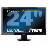 Iiyama ProLite X2472HD 24 inch LED Backlit LCD Monitor 3000:1 250cd/m2 1920 x1080 8ms D-Sub/DVI-D/HD